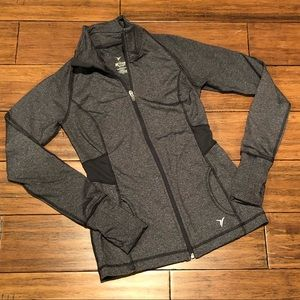 Old Navy Active fitted performance jacket charcoal